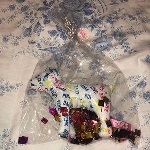 Victoria's Secret PINK plush toy dog LIMITED